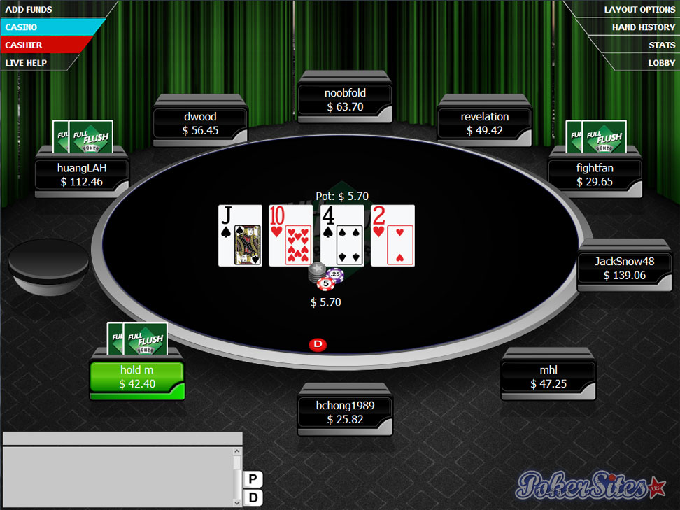 Poker online us players