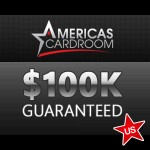 Americas Cardroom Doubles Sunday Guarantee for One Week Only