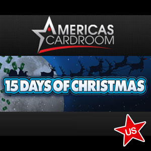 Americas Cardroom 15 Days of Christmas