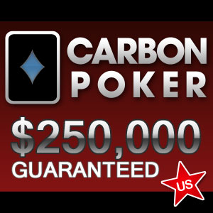 Carbon Poker $250K Guaranteed Tournament