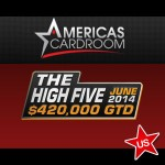 "ACR´s Second ""High Five"" Series to have Bigger Guarantees"