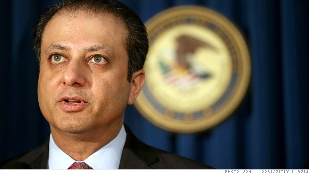 Preet Bharara possible US Attorney General
