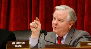 Rep. Joe Barton Internet Poker Freedom Act RAWA
