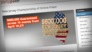 NJ online poker revenues