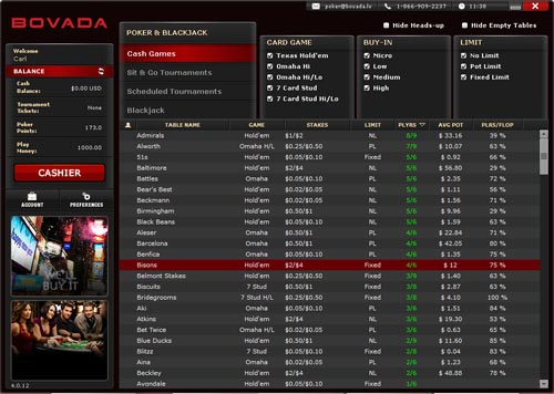 Poker software that works with bovada