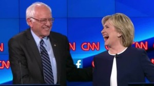 Democratic debate Hillary Clinton Bernie Sanders Donald Trump