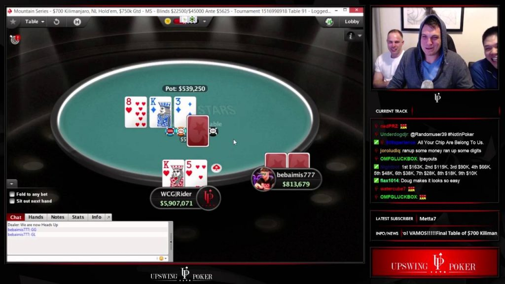 Twitch Poker Central WSOP